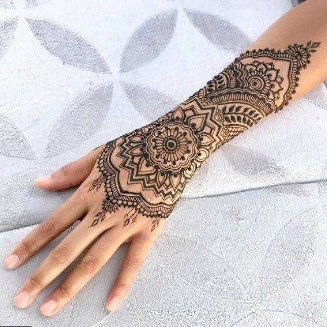 Henna Designs At Pistol Pete's Tattoo Saloon