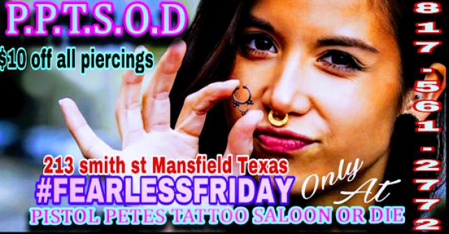 Tattoo Body Piercing Specials In Arlington Tx